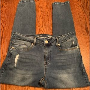 Women's Distressed Seven Jeans/Jegging
